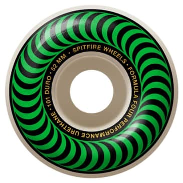 Spitfire Formula Four Classic Wheels 101a Green - 52mm