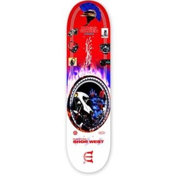 Evisen Skateboards Shor West Wild Dragster Skateboard Deck - 8.6