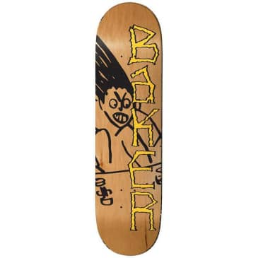 Baker Skateboards Herman Aggro Skateboard Deck - 8.25""