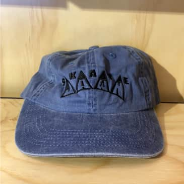 Skate Jawn 6 Panel King Embroidered Hat (Blue)