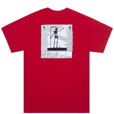 Fucking Awesome Grim Reaper T-Shirt - Red
