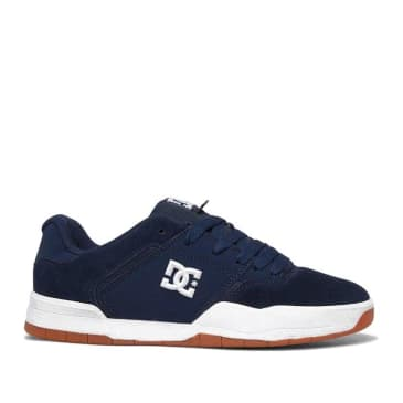 DC Shoes Central Skate Shoes - Navy / Gum