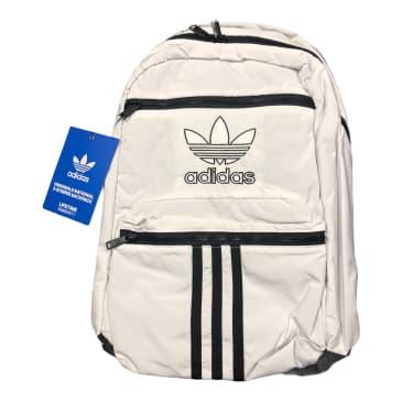 Adidas Originals National 3-Stripes Backpack White