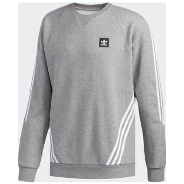 adidas Insley Sweatshirt - Core Heather/White