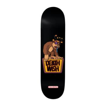 Deathwish Pedro Knocked Out Deck 8.125""