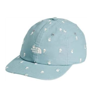 The North Face Washed Norm Hat - Tourmaline Blue