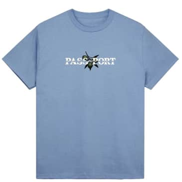 Pass~Port Olive Puff T-Shirt - Carolina Blue