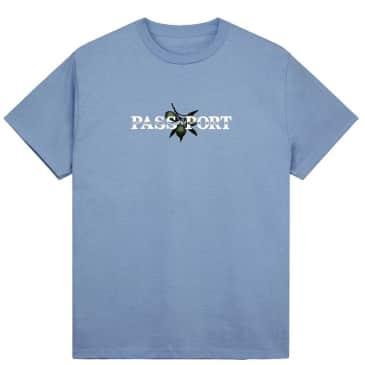 Pass~Port Olive Puff T-Shirt - Carolina Blue