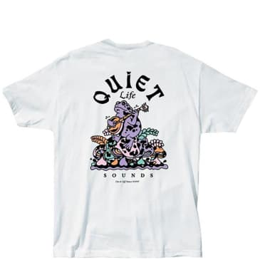 The Quiet Life Sounds T-Shirt - White