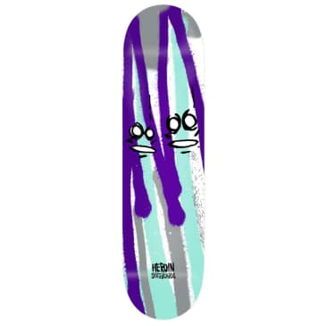 """Heroin Skateboards - Frank Shaw Call Of The Wild Deck 8.75"""" Wide"""