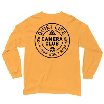 The Quiet Life - Wont Stop Long Sleeve T - Gold
