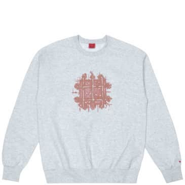 WKND Grate Crewneck - Heather Gray