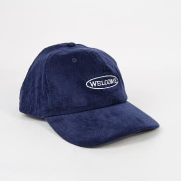 Welcome Skate Store - No Drama Cord Cap - Navy