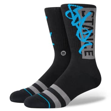 Stance Stash OG Staple Socks | Black