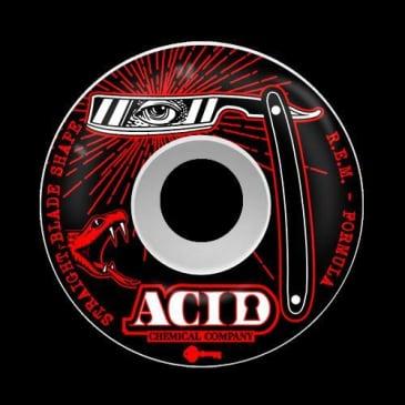 Acid Chemical Co Straight Blade Wheels