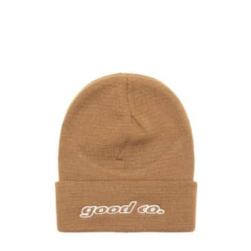 "THE GOOD COMPANY-""GALAXY BEANIE""(CAMEL)"