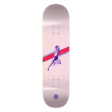 """Cleaver Skateboards - 8.125"""" Going Nowhere Fast Deck - Pink"""