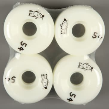 Shop Brand Conical 54mm 101d Wheels (White)