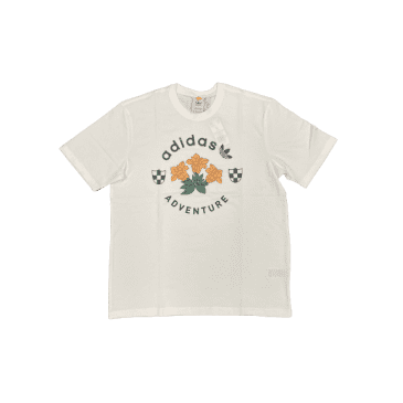 adidas Skateboarding Adventure Flowers T-Shirt - White