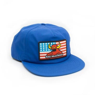 TOY MACHINE American Monster Hat Blue