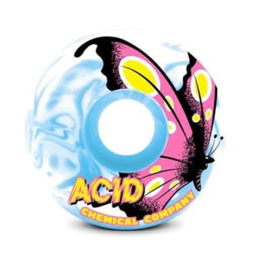 """ACID CHEMICAL CO BUTTERFLY """"LITTLE BEAUTIES"""" WHEELS 53MM 101A"""