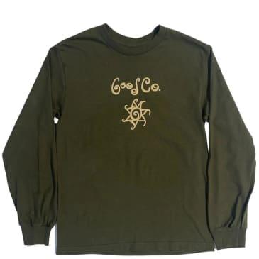 The Good Company Swirl Long Sleeve T-Shirt - Olive