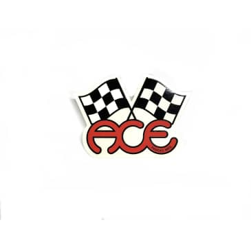 Ace Truck Co. Checkered Flag Sticker