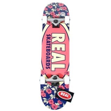 Real Skateboards flowers Complete - 7.75""