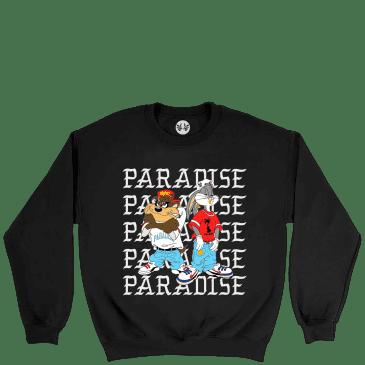 Paradise.NYC Kriss Kross Crew - Black