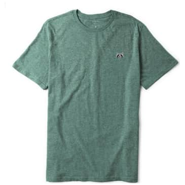 Habitat Skateboards Raccoon Embroidered T-Shirt - Aqua Heather