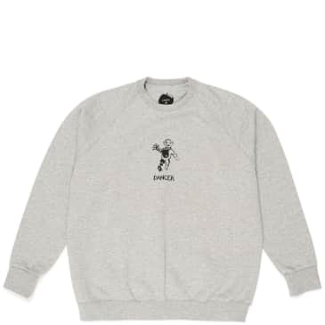 Dancer OG Logo Crew Sweatshirt - Heather Grey