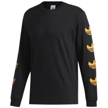 Adidas Gonz Shmoo Long Sleeve T-Shirt - Black