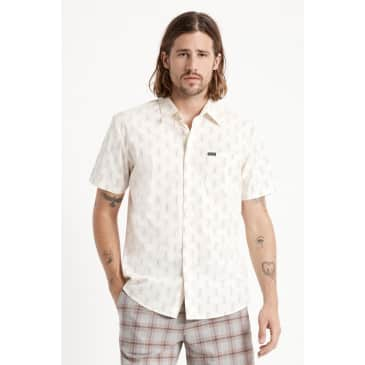 Brixton Charter Crossover Print S/S Woven Shirt