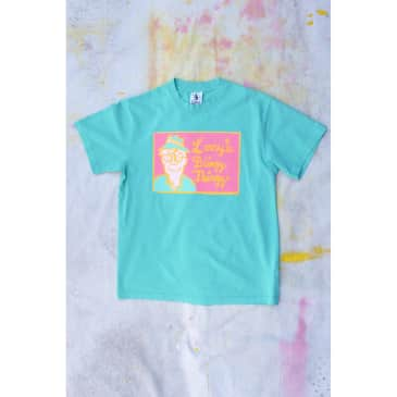 Larry's Blingy Thingy S/S T-shirt - Turquoise