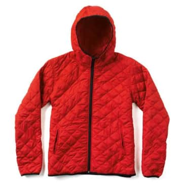 Chocolate Quickpack Jacket Red