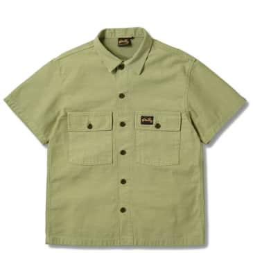 Stan Ray Short Sleeve CPO Shirt - Olive Sateen