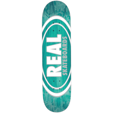 Real Skateboards Deck Oval Patterns Team Series 8""