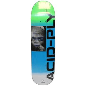 "Quasi Chembaby Blue Skateboard Deck - 8.375"""