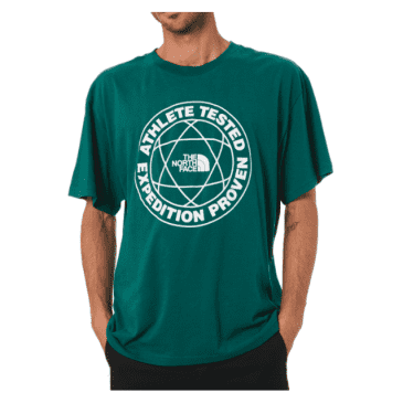 The North Face Brand Stand Tee | Evergreen TNF White