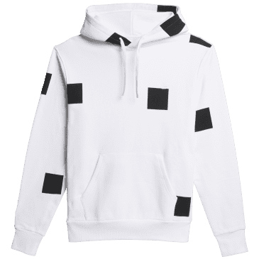 adidas Skateboarding Heavyweight Shmoofoil Box Hoodie - White / Black