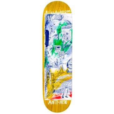 """Anti Hero B.A Then And Now Deck - 8.5"""""""