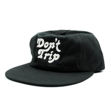 Free & Easy - Don't Trip Unstructured Cap - Black