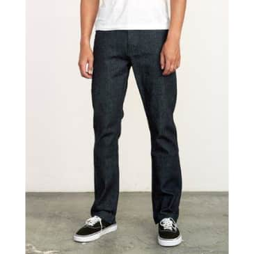 RVCA Weekend Raw Selvedge Jeans
