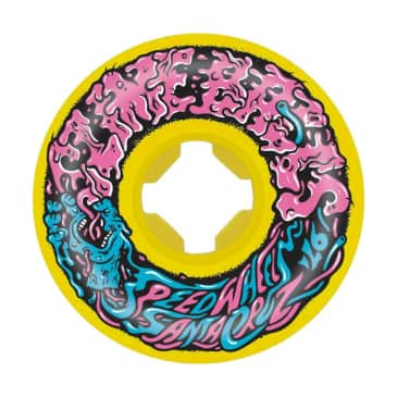 Santa Cruz Skateboards - Slime Balls Mini Vomits 97A Yellow 54 MM