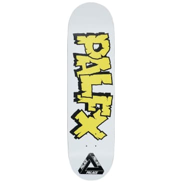 Palace Nein FX White Skateboard Deck - 8.375""