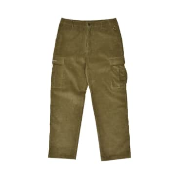 Corduroy Cargo Pants Hunting Green