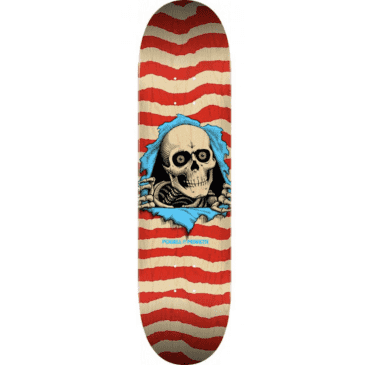 Powell Peralta Ripper Deck - Natural/Red 8.5