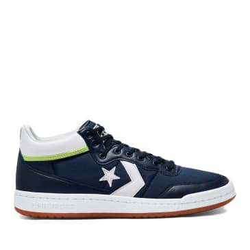 Converse CONS Fastbreak Pro Skate Shoes - Obsidian / White / Ghost Green