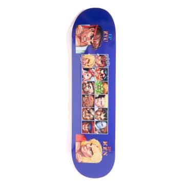 HUF X Street Fighter Players Select Skateboard Deck - 8.25