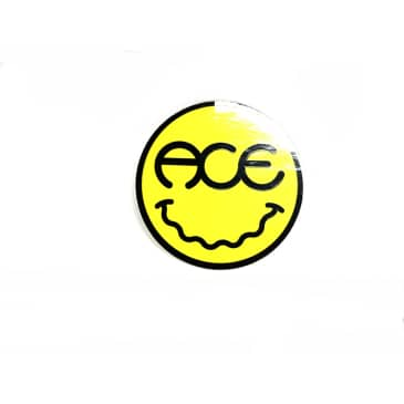 Ace Truck Co. Smiley Face Sticker